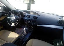 النوع :مازدا 3 الموديل :2013 قوة المحرك :1600سيسي اللون :رمادي وكاله خليجي أو وا