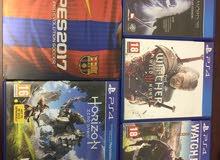 للبيع اشرطة PS4