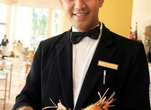 Required Filipino waiter (male only) for a luxury cafe provided inside Sultanate Oman only .