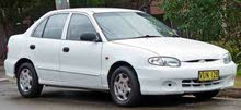 Manual Hyundai Accent 1997