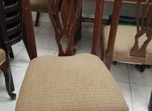 طاولة سفرة فخمة خشب تقيل
