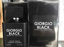 Gorgio black  عطر فرنسي رجالي