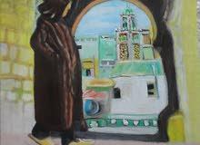 لوحات مغربية من اعمالي