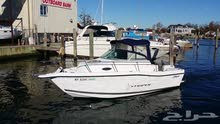 قارب ميني يخت موديل 2000 و مقطورة المنيوم للبيع اوبدل بجمس 2010 وفوق