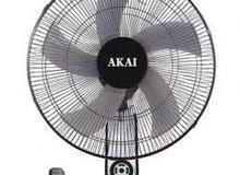 540مروحة أكاي اليابانية بالضمان 5 ريشة 18 بوصه بموتور نحاس مابتسخنش ابدا احسن و