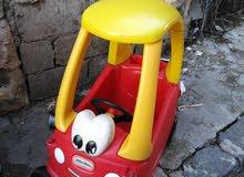 سيارة للأطفال مناسبه لغاية 5 سنوات