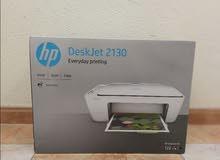 طابعة HP Deskjet 2130 جديدة بالكرتون
