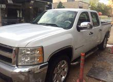 White Chevrolet Silverado 2011 for sale
