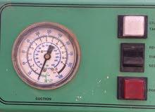جهاز تفريغ الغاز من منظومة التكيف وإعادته