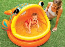بركة سباحة للأطفال عمر سنة حتى 3 سنوات Intex 57109