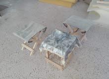 طاولة و2 كراسي