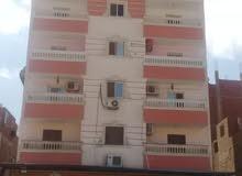 للبيع موقع مميز جدا شارع النيل رئيسى شقة 190م الدور التاسع نصف تشطيب الاسانسير شغال غير مجروحة