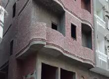 للبيع منزل في السلام1 السويس  وجهة مميزة 5طوابق وروف