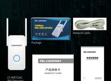 Comfast مقوي إشارة شبكة الواي فاي بسرعة 1200Mbps