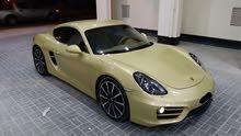 Porsche Cayman 2014 (Yellow)