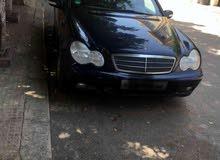 مرسيدس سي 200 موديل 2001