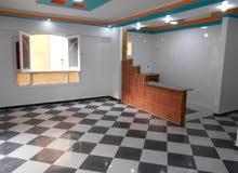 للبيع شقة 130م ( مساحة رائعه ) مسجلة في شاطئ النخيل الاسكندرية