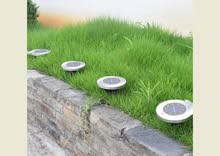 Solar Garden Disk Light – مصابيح الحديقة بالطاقة الشمسية