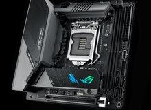 لوحة كمبيوتر مازربورد  Motherboard Asus Rog strix Z490I