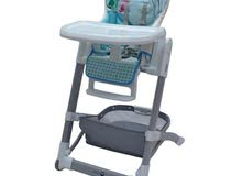 Mini Panda Baby High Chair - Blue