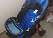عربة أطفال ماركة junior's من بيبي شوب شبه جديدة البيع لظروف السفر +دراجة مجانا