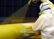 فني طلاء صناعي معادن وحديد