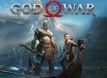God of war 4 للبيع مستعمل قليل نظيف