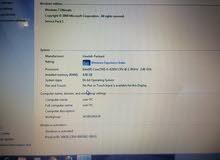 لابتوب hp core i5 مستعمل اسبوعين بحالة الوكالة معه شاحنو الاصلي