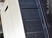 ((Z600))-برسيسورXEON E5620-كاش 24 ميجا-رمات24جيجا-2 برسيسور-(FX 1800)=