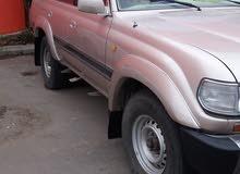 Beige Toyota Land Cruiser 1992 for sale