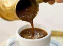 بيع  قهوه وشاي وسكاكر
