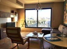 شقة مفروشة  عبدون , مساحة البناء 100م