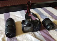 للبيع كمرة تصوير كانون مستعمل فترة بسيطة
