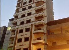 شقة 225 متر للبيع في برج جديد في طلخا قريبة جدا من النيل