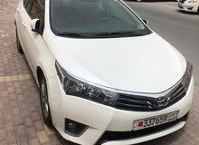 BHD 4000 / Toyota corolla GLI for sale. (model : 2015) excellent condition car,