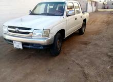 Manual White Toyota 2002 for sale