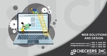 تصميم وبرمجة المواقع الالكترونية واستضافتها