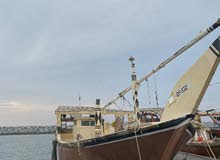 للبيع لنش أو المبادلة بقارب بجميع ملحقاته