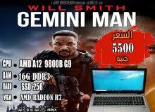 HP ELITEBOOK 755 G3 جيل ثامن (AMD A12 8800B)رمات 16 جيجا + هارد 256 SSD