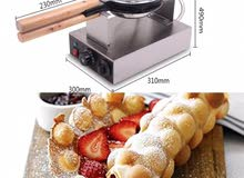 bubble waffle machine  للبيع ماكينة بابل وافل