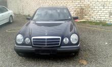 Used condition Mercedes Benz E 240 1998 with +200,000 km mileage