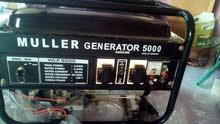 مولدكهرباءالمانى5.5KWكاتم للصوت معدل يعمل على البترول والغاز