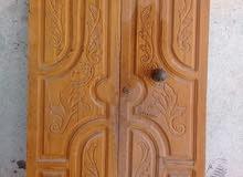 باب من نوع خشب بوش باي باب رئيسي