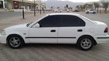 White Honda Civic 1998 for sale