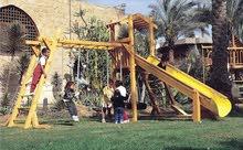 مجمعات العاب اطفال خشبية للمدارس و الفنادق للاستخدام الشاق