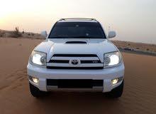 تويوتا 4 رانر-م2003-4WD-لون أبيض-8سلندر-واردأمريكا-بحالةممتازة-ماشية222.588