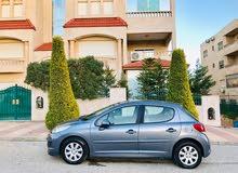 بيجو 207 اتوماتيك موديل 2011 لون فيراني فحص كامل 7 جيد