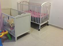 سريرين اطفال للبيع المستعجل