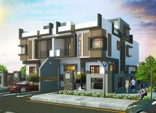 توين هاوس للبيع  505م + حديقة 133م علي الشارع الرئيسي القادم من مول مصر بتسهيلات