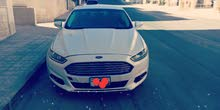 White Ford Fusion 2014 for rent
